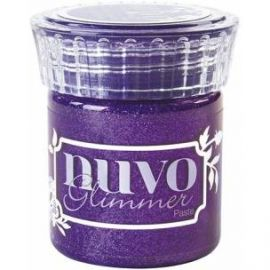 Glimmer paste de Nuvo Amethyst Purple de 50ml