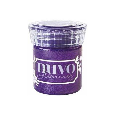 Glimmer paste de Nuvo Amethyst Purple de 50ml