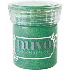 Glimmer paste de Nuvo Peridot Green de 50ml