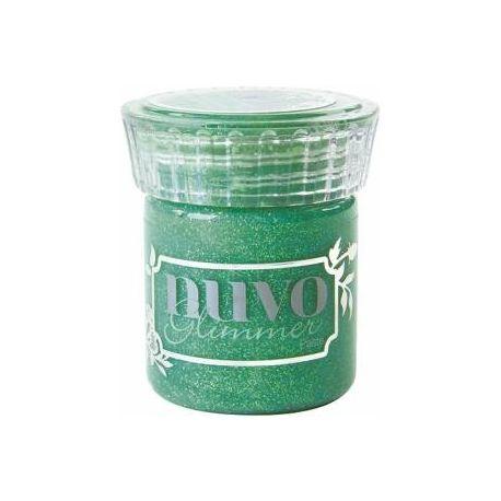 Glimmer paste de Nuvo Peridot Green de 50ml