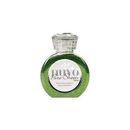 Purpurina Nuvo Glitter Green Meadow 100ml