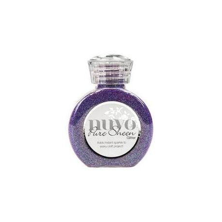 Purpurina Nuvo Glitter Violet Infusion 100ml