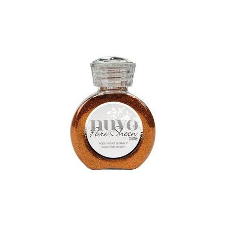 Purpurina Nuvo Glitter Spiced Apricot 100ml