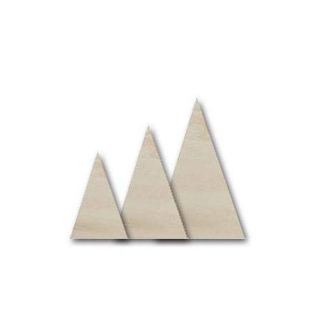 Juego de 3 triángulos de Chopo para decorar
