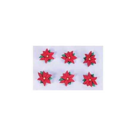 Set de botones navideños
