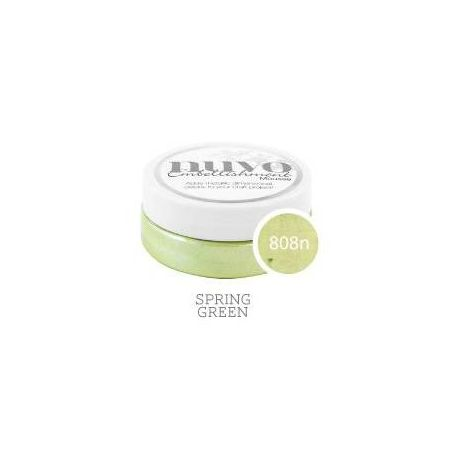 Textura NUVO Embellishment Mousse 808N Spring Green