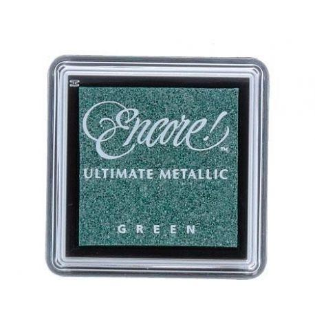 Tinta Encore metallic green 08