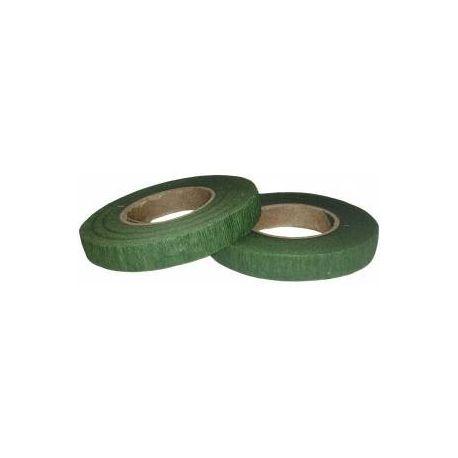 Cinta tape floral verde