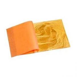 Pan de oro 14x14 libro 25 hojas