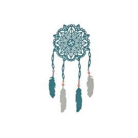 Set 6 troqueles Thinlits Boho Dreams by Sophie Guilar