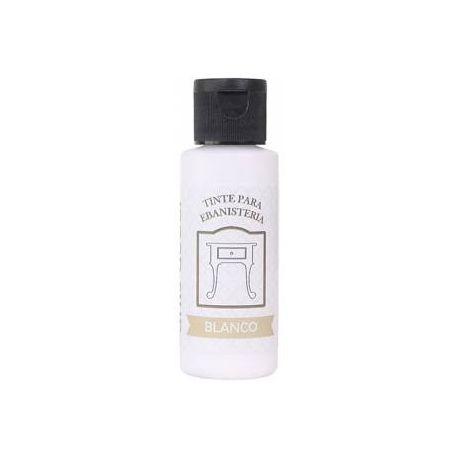 Tinte ebanistería al agua Blanco 65ml.