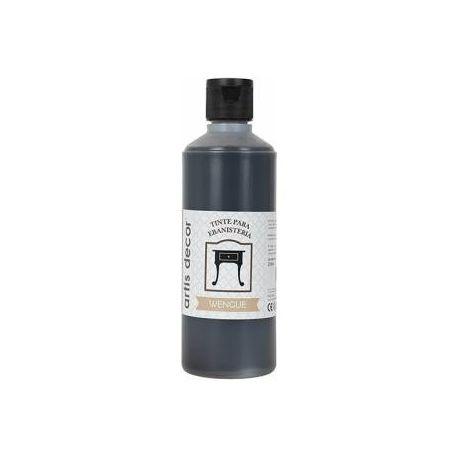 Tinte ebanistería al agua Wengue 250ml.