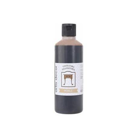 Tinte ebanistería al agua Roble 250ml.