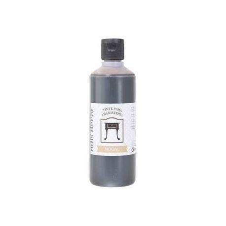 Tinte ebanistería al agua Nogal 250ml.