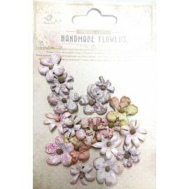 Little Birdie Set de 18 flores de 1.5cm y 2.5cm Rosa nº17