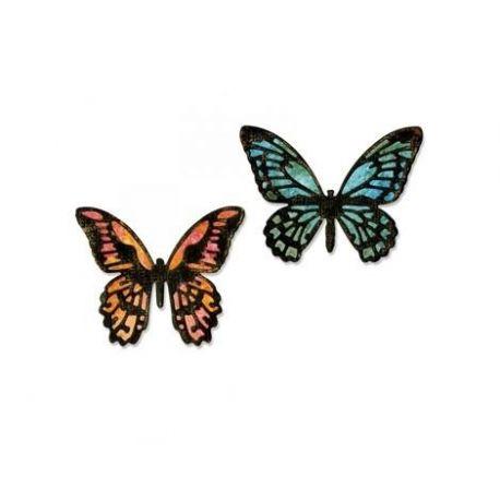 Troquel Sizzix THINLITS Detailed Butterflies Mini by Tim Holtz