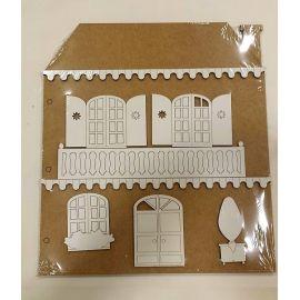 Albúm DM para decorar Fachada casa (2 capas)