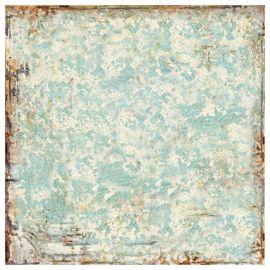 Papel de arroz 50x50 Textura turquesa