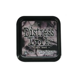 Tinta Distress Ink Black Soot Tim Holtz
