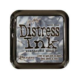 Tinta Distress Ink Weathered Wood Tim Holtz