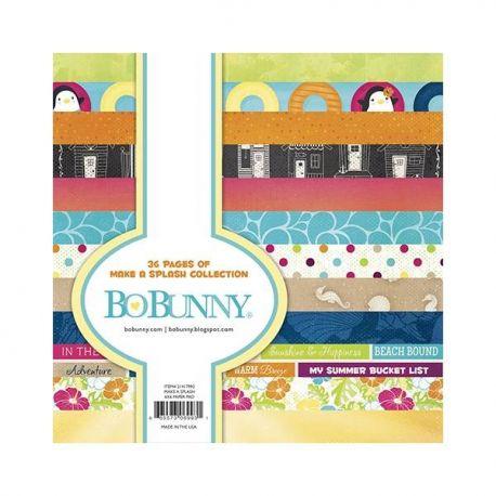 BoBunny Bloc papel Scrap 15x15 Make a Splash