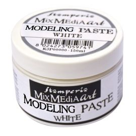 Modeling Paste Stamperia Blanca 150ml