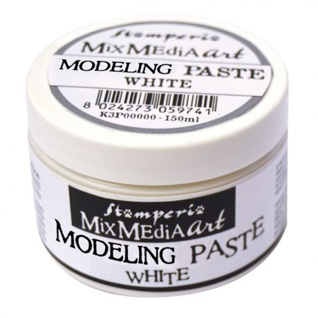 Modeling Paste Stamperia Blanca 150ml