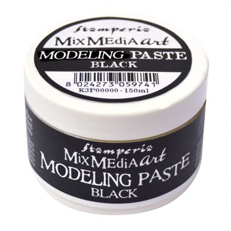 Modeling Paste Stamperia Negra 150ml