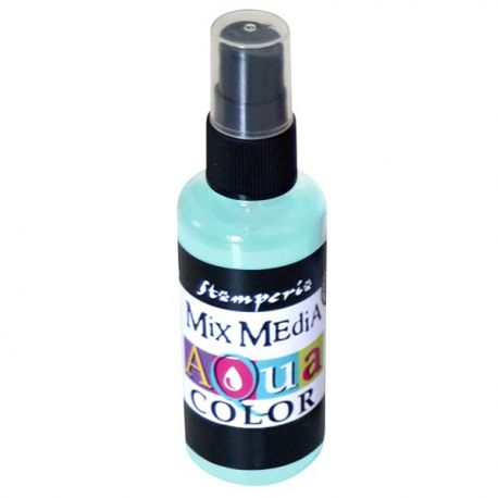 Aqua Color Spray water green