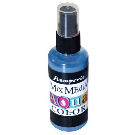 Aqua Color Spray Carta da zucchero light blue