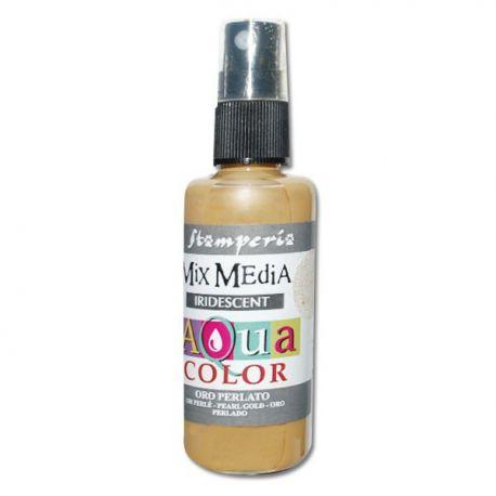 Aqua Color Spray Pearl Gold