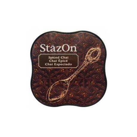 Tinta Stazon Chai especiado