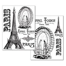 Transfer 21x29.7cm Tour Eiffel 80gr