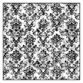 """Sello de alta definición """"Tapestry"""" de Stamperia"""