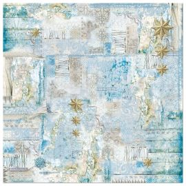 Papel de arroz 50x50 Blues Stars Little Stars