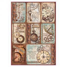 Papel de arroz DinA4 Clockwise cards