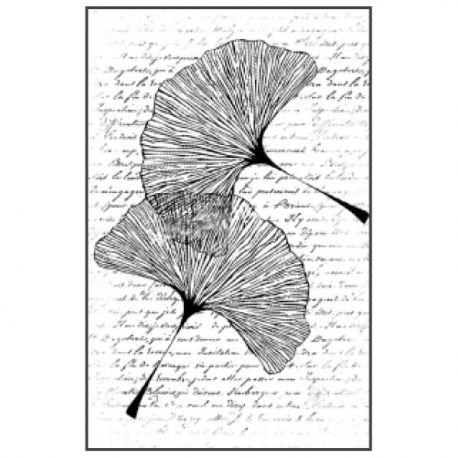 Sello de alta definición Range of leaves Stamperia