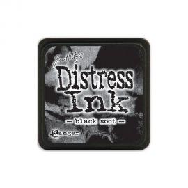 Tinta Distress Ink Black Soot Tim Holtz MINI