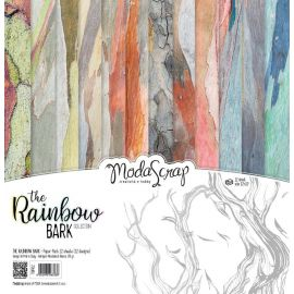 "Moda Scrap - Stack de 12 papeles ""The Rainbow"""