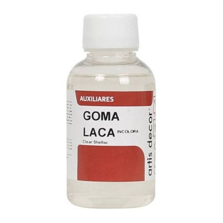 Goma laca transparente Artis Decor 125ml