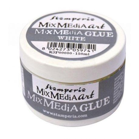 Cola para Mix Media Decoupage Stamperia 150ml
