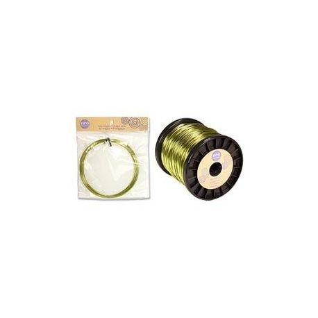 Hilo magico 1.5mm Magic Wire Verde Manzana neo bisuteria