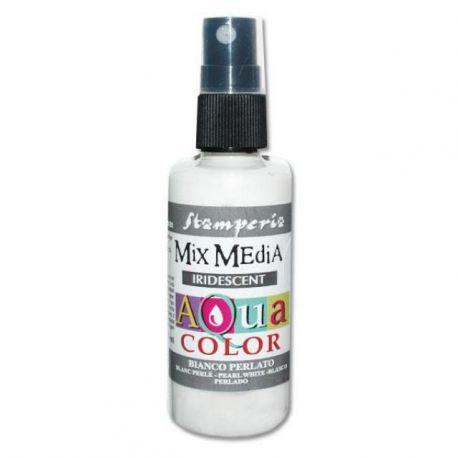 Aqua Color Spray iridiscent white