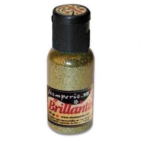 Purpurina Brillantini Ligh gold 20gr