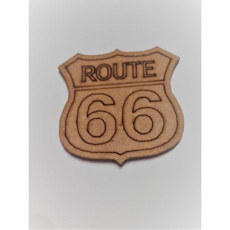 Silueta Ruta 66