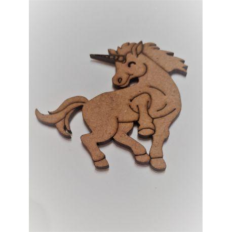 Silueta Unicornio