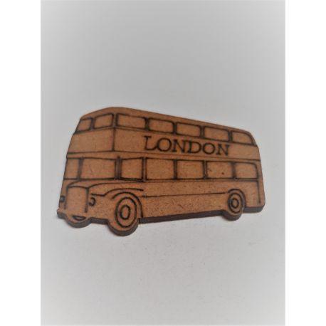 Silueta Bus london