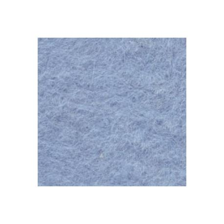 Fieltro 30x42cm 3mm azul bebe