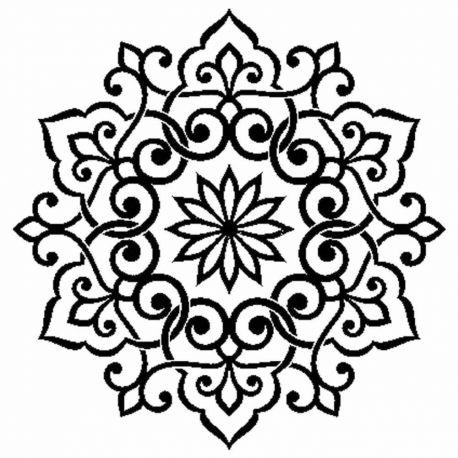 Stencil Stamperia  18x18cm y 0.5mm de espesor lace