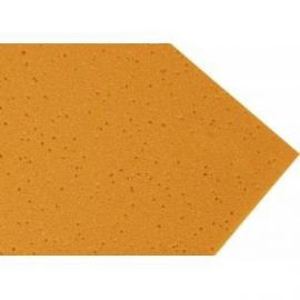 Goma eva carcoma 60x40 2mm Amarillo Huevo